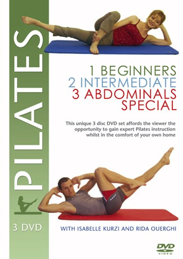 Pilates 3 DVD Box Set - click to enlarge