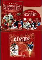 Rugby's Greatest Every Matches Gift Pack - Book & DVD