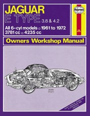 Jaguar E Type (61 - 72) UP to L Book