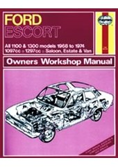 Ford Escort Mk I 1100 & 1300 (68 - 74) Haynes Repair Manual
