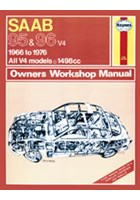Saab 95 & 96 Petrol (66 - 76) Haynes Repair Manual