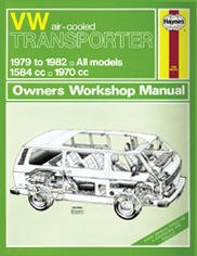 VW Transporter (air-cooled) Petrol (79 - 82) Haynes Repair Manual