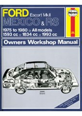 Ford Escort Mk II Mexico, RS 1800 & RS 2000 (75 - 80) Haynes Repair Manual