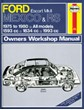 Ford Escort MK II Mexico, RS 1800 & RS 2000 (75 - 80) * Book