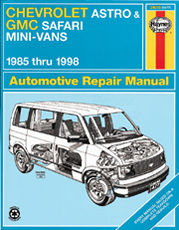 chevrolet astro gmc safari mini vans 85 98 book duke video rh dukevideo com