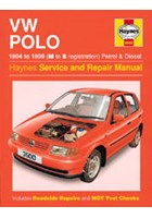Volkswagen Polo Hatchback Petrol & Diesel (94 - 99) M to S Book