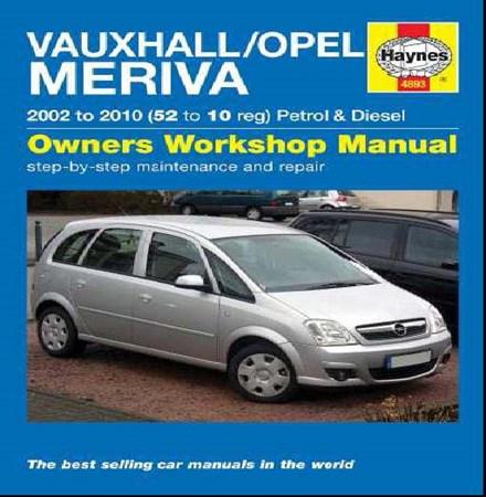 Vauxhall/Opel Meriva Petrol