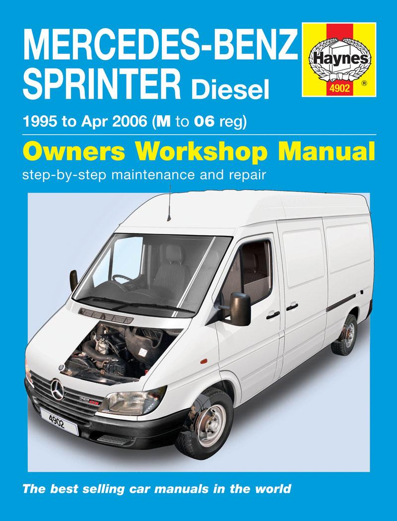 Mercedes-Benz Sprinter Diesel (95 - Apr 06) Haynes Repair Manual