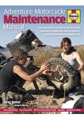 Adventure Motorcycle Maintenance Manual (HB)
