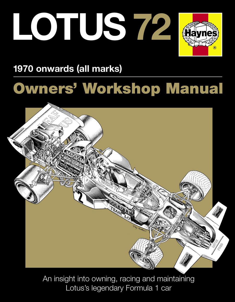 Lotus 72 Owners' Manual (HB) - click to enlarge