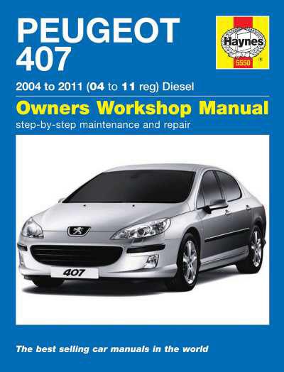 peugeot 407 diesel 04 11 haynes repair manual duke video rh dukevideo com peugeot 407 sw manual pdf peugeot 407 sw 2006 manual
