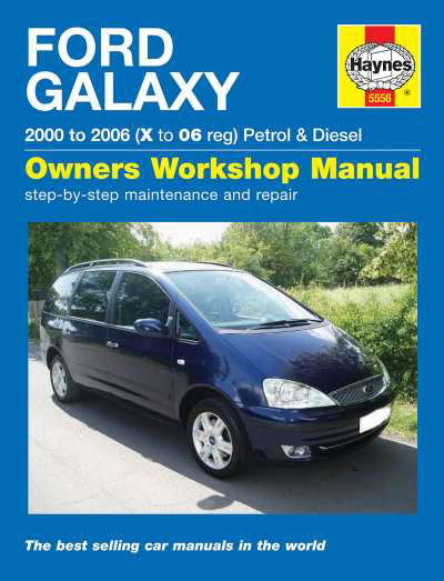 ford galaxy petrol diesel 00 06 haynes repair manual duke video rh dukevideo com Ford Galaxy 7 Seater workshop manual ford galaxy pdf