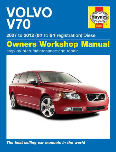 volvo v70 diesel june 07 12 haynes repair manual duke video rh dukevideo com 2001 volvo v70 service manual pdf volvo 2001 v70 owners manual