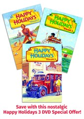 Happy Holidays Vol 1, 2 & 3 DVD