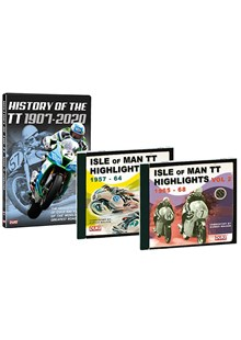History of the TT DVD & TT Highligts CDs
