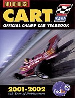 Autocourse Cart(r) Official Champ Car Yearbook 2001-02 Book