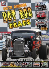 Hot Rod Drags 2013 DVD