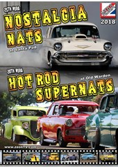 NSRA Nostalgia Nats and Hot Rod Super Nats 2018  DVD