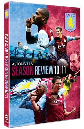 Aston Villa 2010/11 Season Review (DVD)