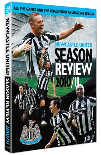 Newcastle United 2010/11 Season Review (DVD) - click to enlarge