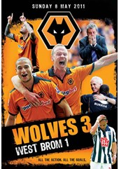 Wolves 3-1 Albion (8 May 2011) (DVD)