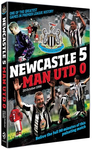 Newcastle United 5-0 Manchester United (1996) (DVD) - click to enlarge