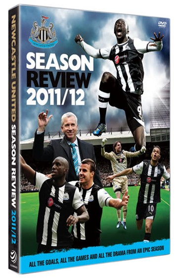 Newcastle United 2011/12 Season Review (DVD) - click to enlarge