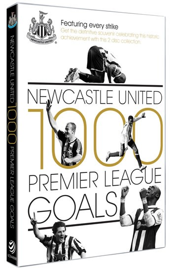 Newcastle United 1000 Premier League Goals (2 DVDs) - click to enlarge