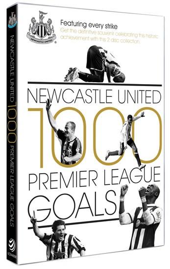 Newcastle United 1000 Premier League Goals (2 DVDs) - click to enlarge