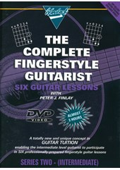 Guitar Lessons Fingerstyle Intrim Acoustic DVD