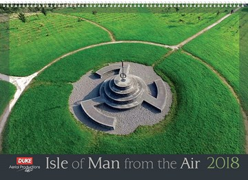 Isle of Man from the Air 2018 Calendar - click to enlarge