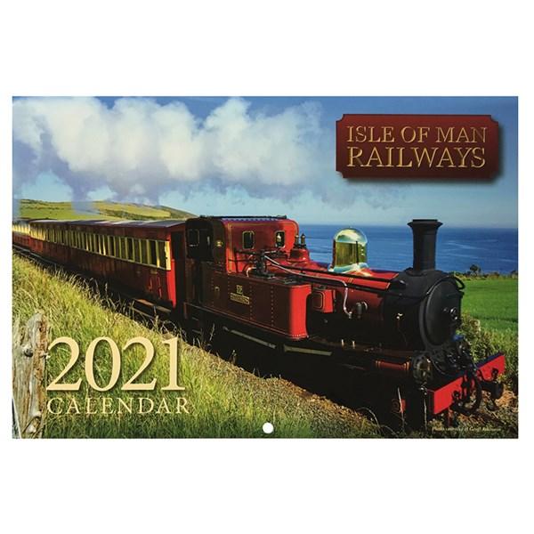 Isle of Man Railways 2021 Calendar : Duke Video