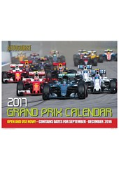 Autocourse Grand Prix 2017 Calendar