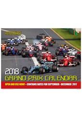 Autocourse 2018 - Grand Prix Calendar.