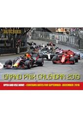 Autocourse 2019 - Grand Prix Calendar