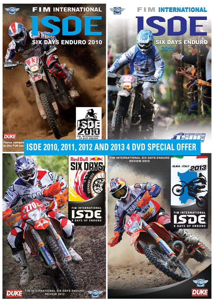 Four Classic ISDE Encounters