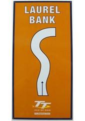 Laurel Bank Replica TT Corner Sign