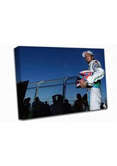 Jenson Button A3 Canvas Print