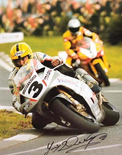 Joey Dunlop Print - click to enlarge