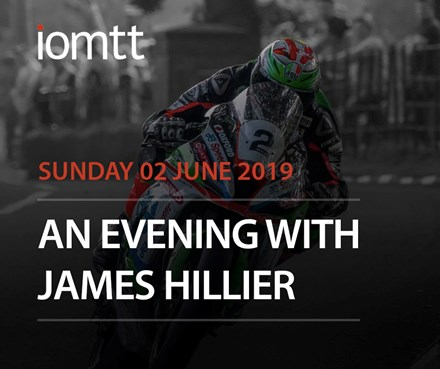 An Evening with James Hillier Sunday 2nd June 2019