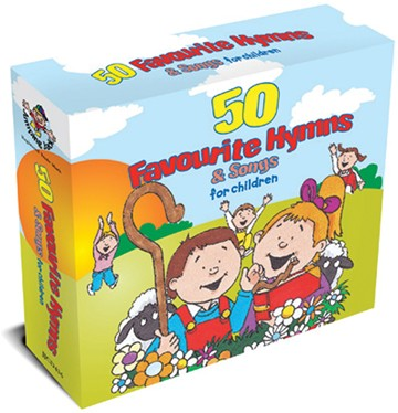 50 Favourite Hymns & Songs For Children 3CD Box Set - click to enlarge