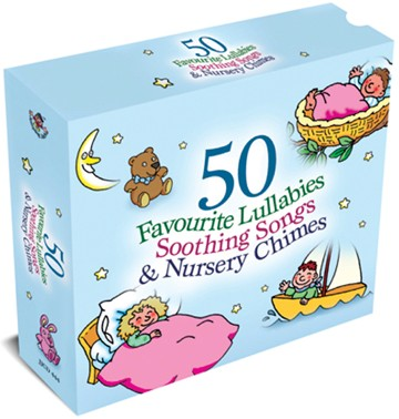 50 Favourite Lullabies & Soothing Songs 3CD Box Set - click to enlarge