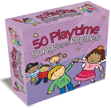50 Playtime Songs & Rhymes 3CD Box Set - click to enlarge