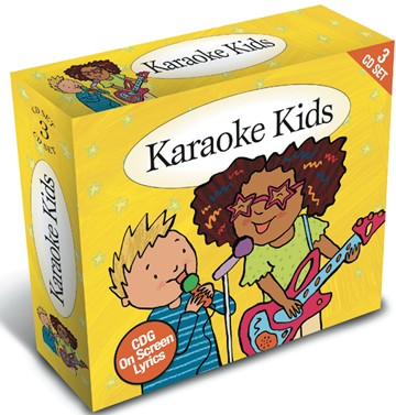 Karaoke Kids - CDG On Screen Lyrics 3CD Box Set - click to enlarge