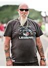 John McGuinness Legend T-Shirt Graphite