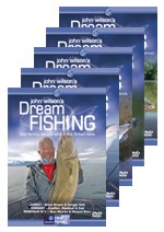 John Wilson Dream Fishing 5 DVD Bundle