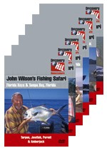 John Wilson Fishing Safari 6 DVD Bundle
