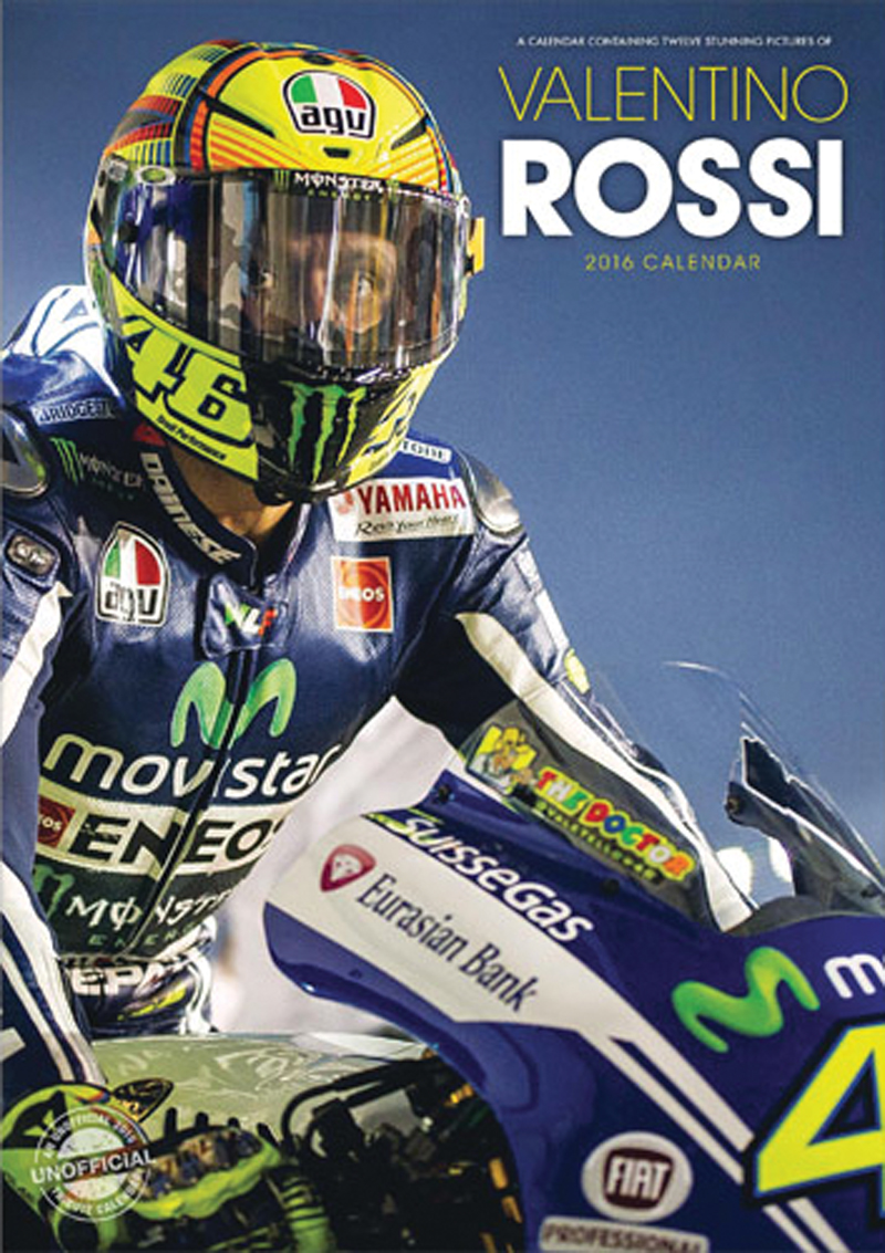 valentino rossi 2016 calendar duke video. Black Bedroom Furniture Sets. Home Design Ideas