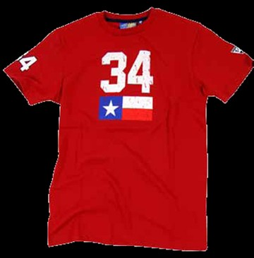 Kevin Schwantz 34 T Shirt Red - click to enlarge