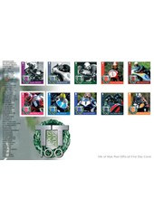 Official TT 2007 Centenary Stamp and Postcard Set